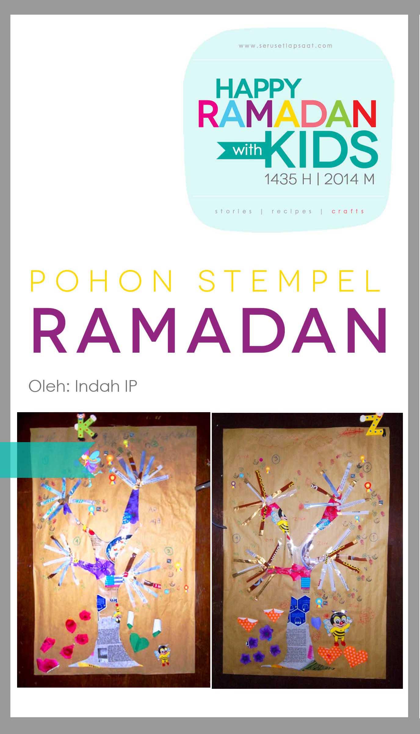 Pohon Stempel Ramadan