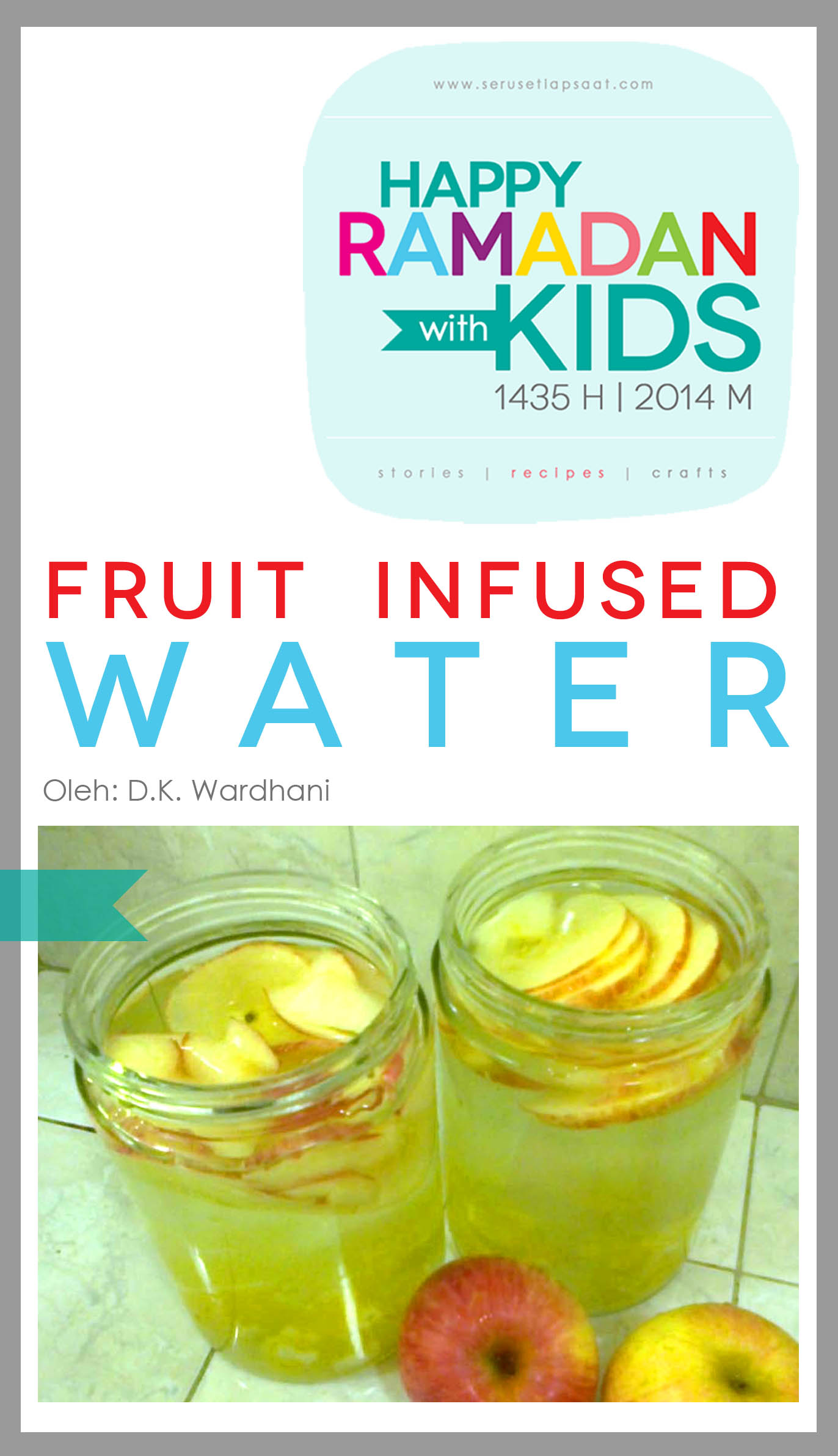 Recipe Fruit Infused Water