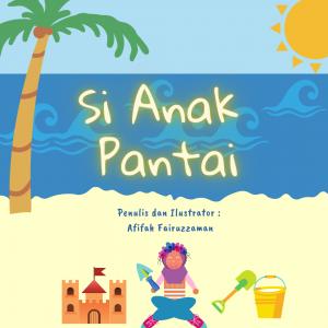 Cover Picbook - Si Anak Pantai