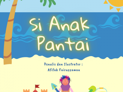 Cover Picbook - Si Anak Pantai